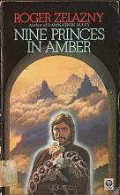 Nine Princes in Amber, (c) 1972; Orbit, 1989, paperback book cover